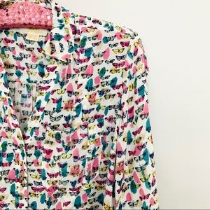 Maeve ❤️ Rochelle Butterfly Blouse ❤️ Size 00P